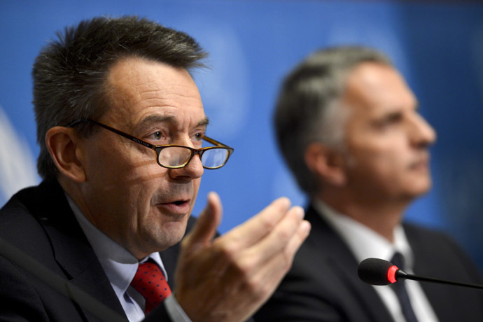 nternational Committee of the Red Cross (ICRC) president Peter Maurer (L) (AFP Photo)