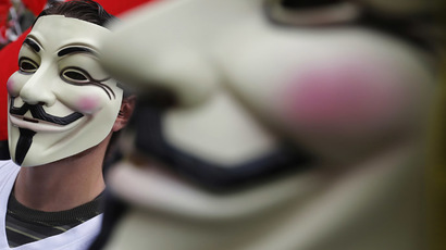 Anonymous prepares for 'Million Mask March' protests around the world
