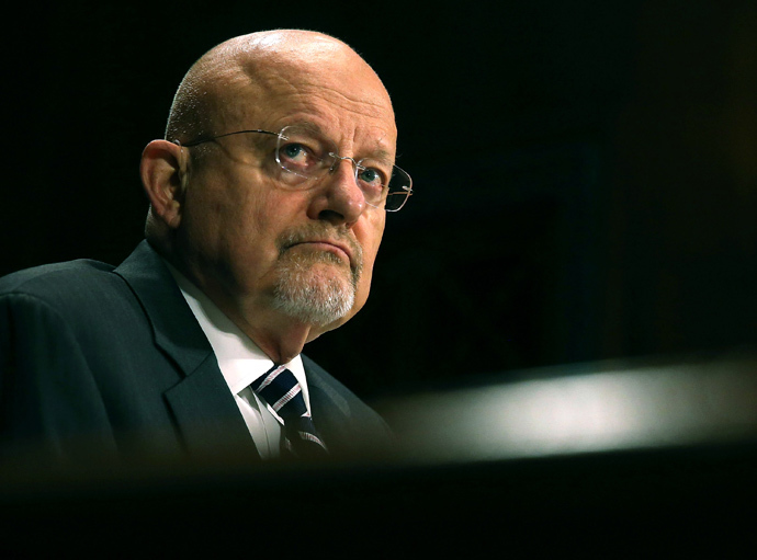 James Clapper, Director of National Intelligence (Mark Wilson / Getty Images / AFP)