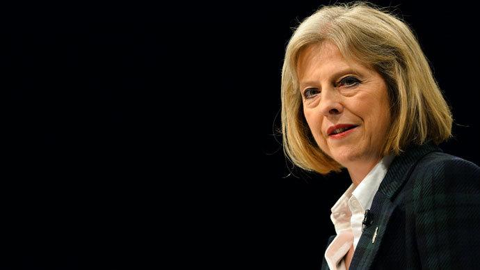 British Home Secretary Theresa May.(AFP Photo / Paul Ellis)
