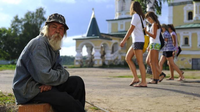 Gap between rich & poor in Russia among world's biggest