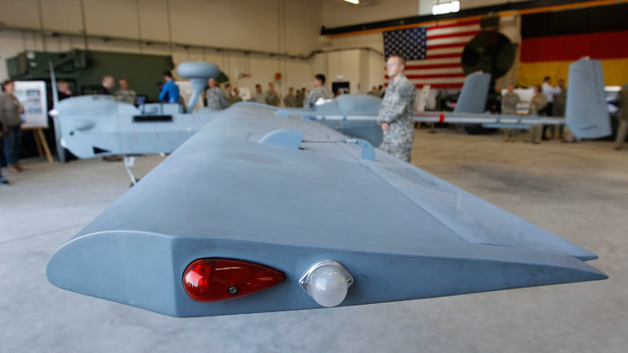 US opens drone facility in Germany, insists 'not for spying purposes'