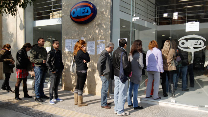 Greek unemployment tops 1.37mn, more job cuts on the way