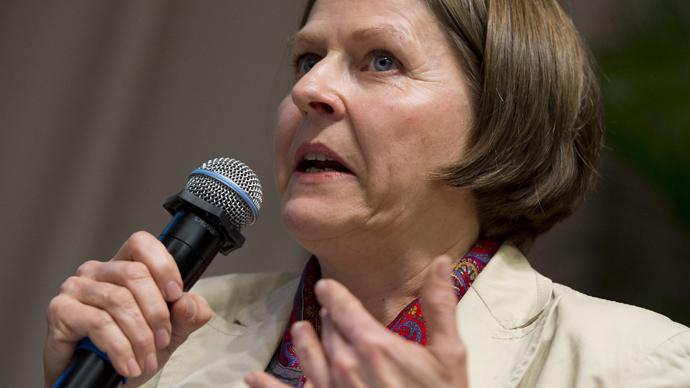 Heidi Hautala, Minister of International Development of Finland (AFP Photo / Saul Loeb)