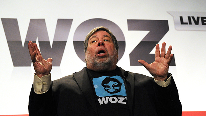 RT finds out what Apple's Wozniak thinks of the NSA leaks scandal [PREVIEW]