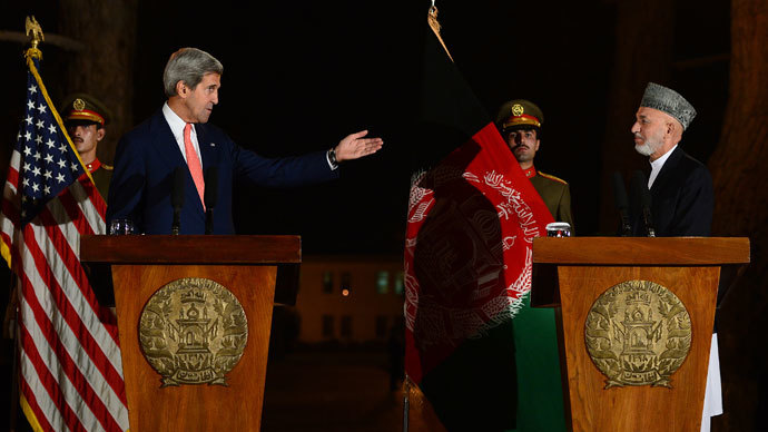 Kerry fails to secure deal on US 'troop immunity' in Afghanistan