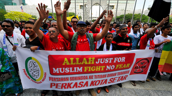 In God's name: Malaysian court bans non-Muslims from using word 'Allah'