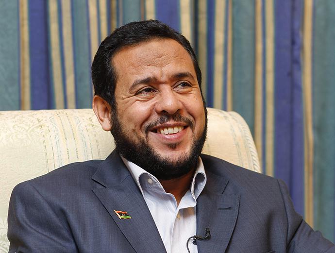 Abdel Hakim Belhadj (Reuters / Youssef Boudlal)