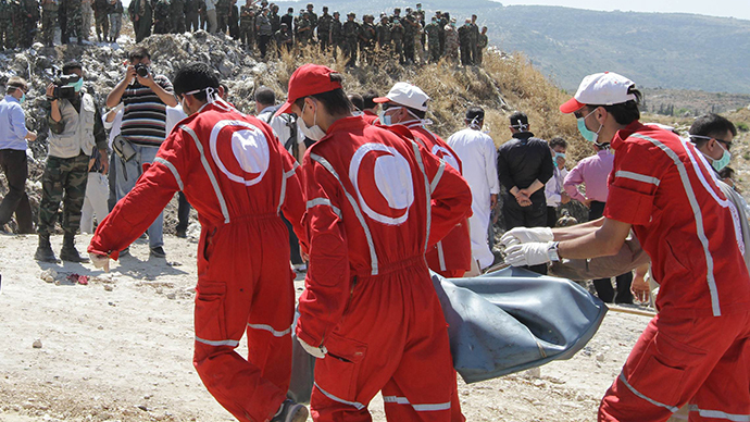 3 Red Cross workers, Red Crescent volunteer set free in Syria
