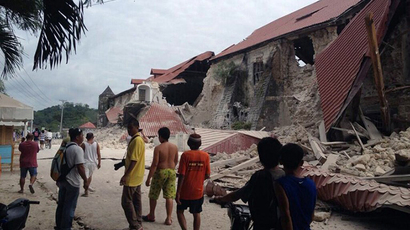 4.8 quake hits typhoon-ravaged Philippines