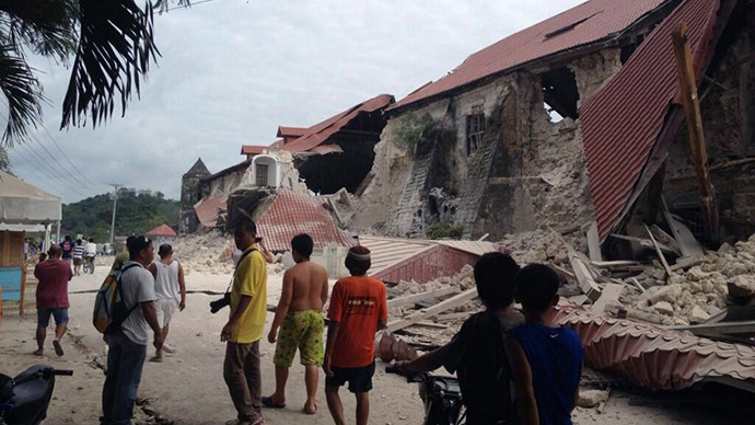 Over 100 killed after 7.1 quake hits southern Philippines