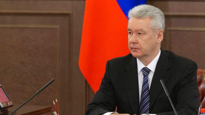 Moscow Mayor Sergei Sobyanin. (RIA Novosti/Denis Grishkin)