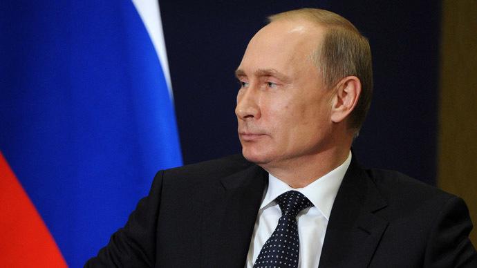 Russian President Vladimir Putin (RIA Novosti/Michael Klimentyev)