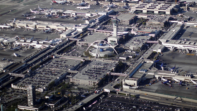 LAX employee arrested in dry ice bombs case