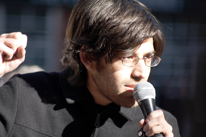 Aaron Swartz (Photo by Phillip Stearns / flickr.com)
