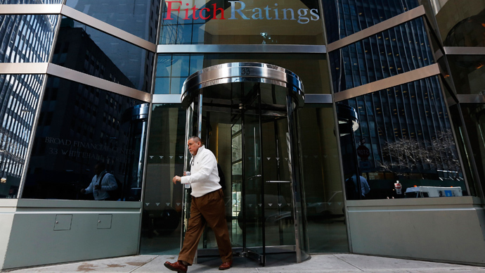 Fitch puts US credit rating under review for downgrade