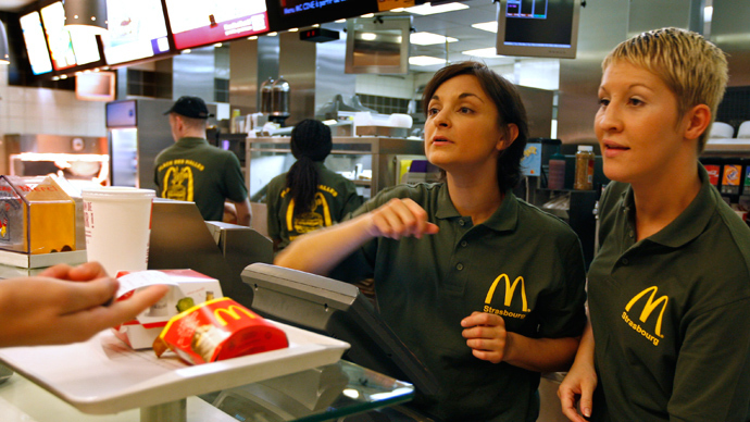 Low fast-food wages supplemented by billions in govt welfare - report