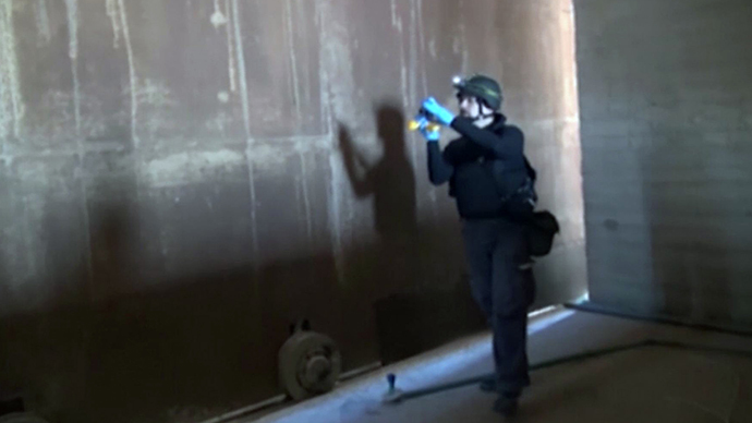 Chemical weapons watchdog verifies 11 sites in Syria