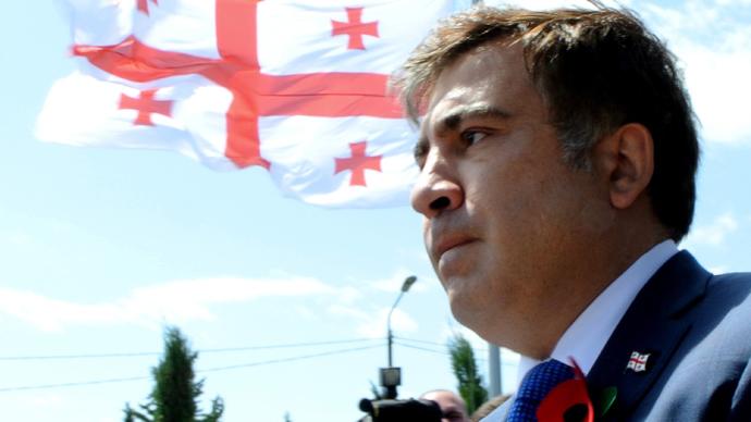 Georgian president Mikhail Saakashvili (AFP Photo / Vano Shlamov)