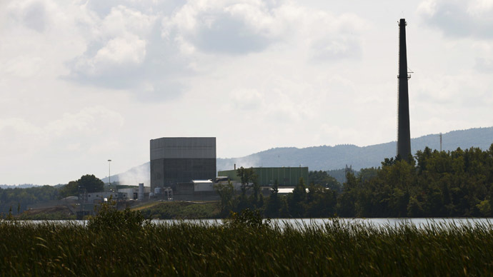 The Vermont Yankee nuclear power plant in Vernon (Reuters/Brian Snyder)