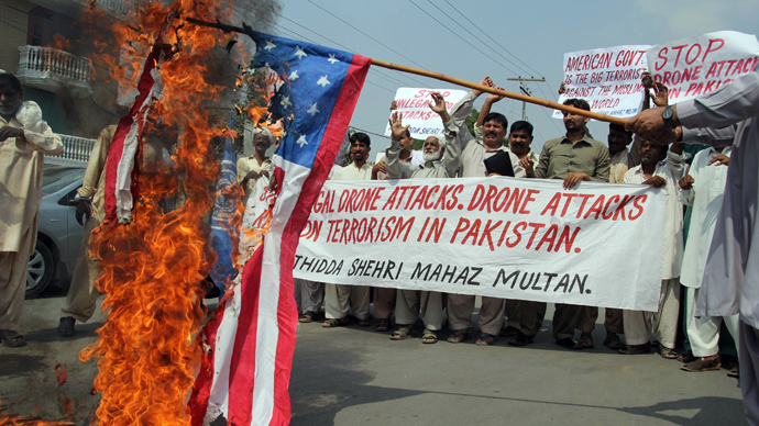Each drone strike creates at least 40 new militants - ex-State Dept. official