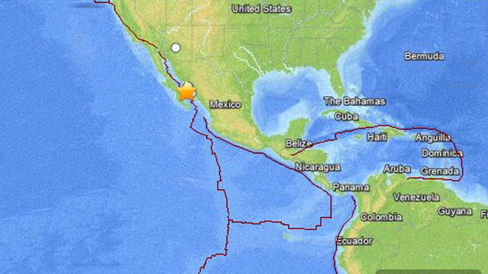 6.5 magnitude earthquake strikes off Mexico coast