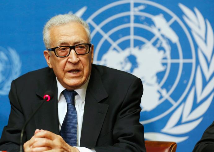 U.N. Special Representative Lakhdar Brahimi (Reuters / Larry Downing)