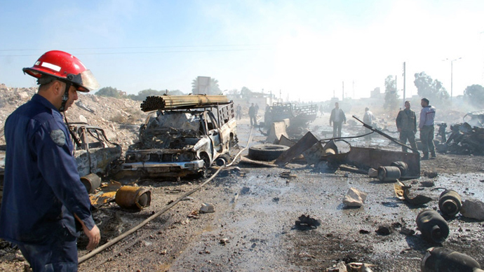 Suicide bomber kills at least 30 in Syria - state media