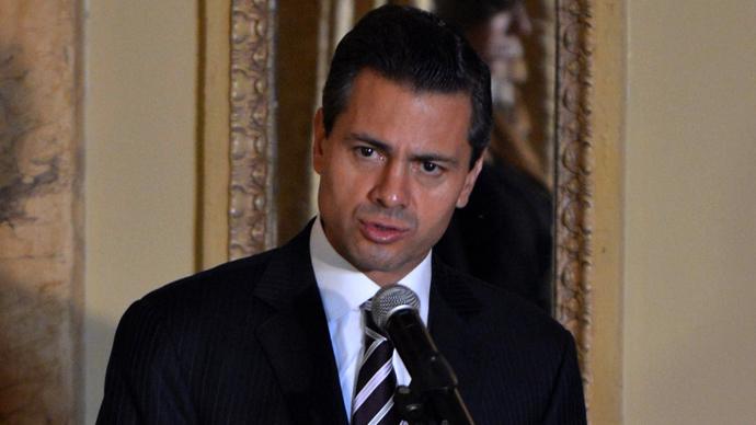 Mexican President Peña Nieto (AFP Photo / Rodrigo Arangua)