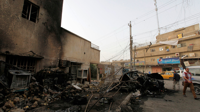 66 killed in day of carnage as 11 car bombs rip through Iraq