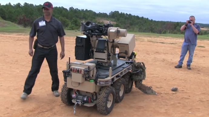 Army prepares to replace thousands of troops with military robots