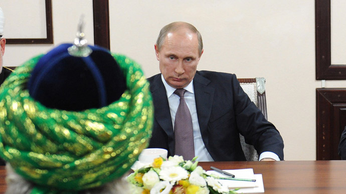 Putin: Radical Islamist groups used to stir up 'foreign-managed conflicts'