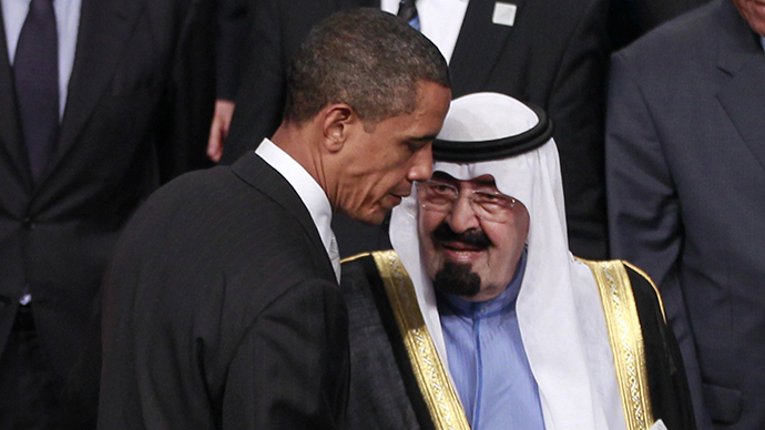 President Barack Obama of the United States and King Abdullah of Saudi Arabia (AFP Photo / Charles Dharapak)