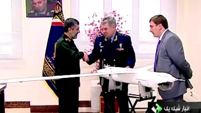 Iran replicates CIA's RQ-170 Sentinel drone