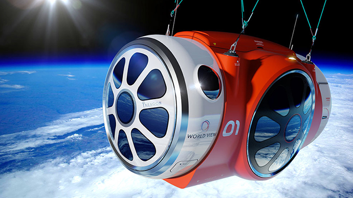Space ballooning: 20-mile-high flights offered for $75K