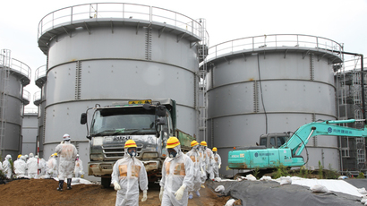 Fukushima moves radioactive water as it braces for Typhoon Francisco