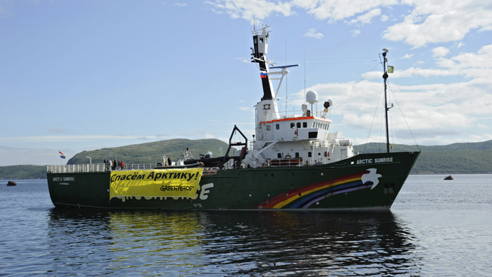 Russia softens charges against Greenpeace activists from piracy to hooliganism