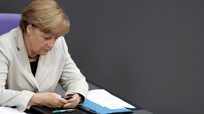 Britain allegedly spied on Merkel a mere stone's throw from her desk