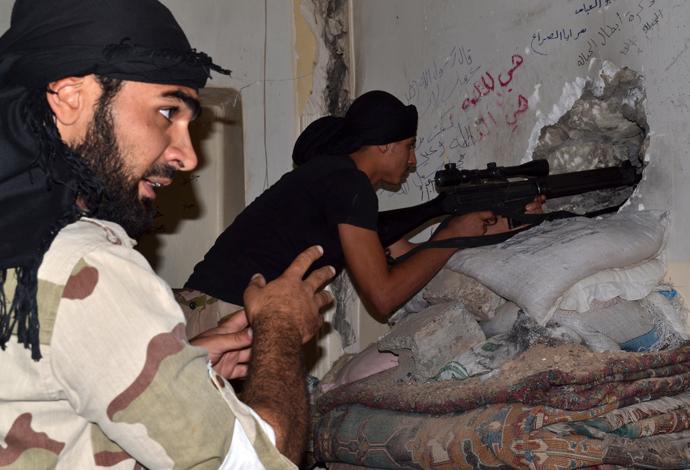 AFP Photo / Huthaifa Al-Maaruf