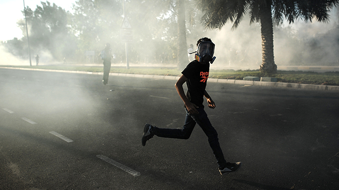 Bahrain's enormous tear gas tender exposed amid ongoing unrest