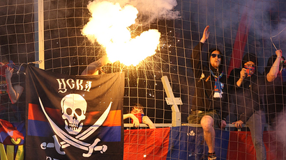 UEFA punishes CSKA Moscow for fans' racist chants