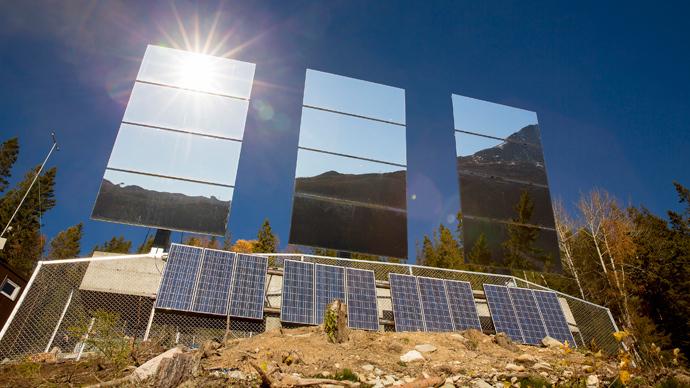 SciTech sundog: Giant solar mirrors bring light to Norwegian town