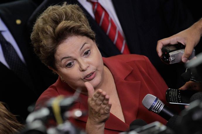 Brazil's President Dilma Rousseff (Reuters / Ueslei Marcelino)