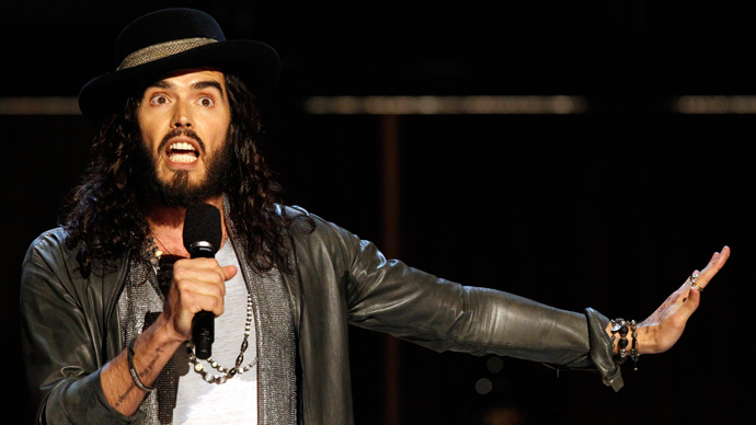 Russell Brand 'Con-Dems' MSM blackout of 50,000-strong anti-austerity march