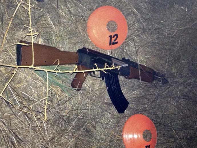 Sonoma County Sheriff's office photo shows a replica of an assault weapon that a teenage boy was carrying before he was shot by Sonoma County Deputies in Santa Rosa, California October 22, 2013.(Sonoma County Sheriff's office/Handout via Reuters)