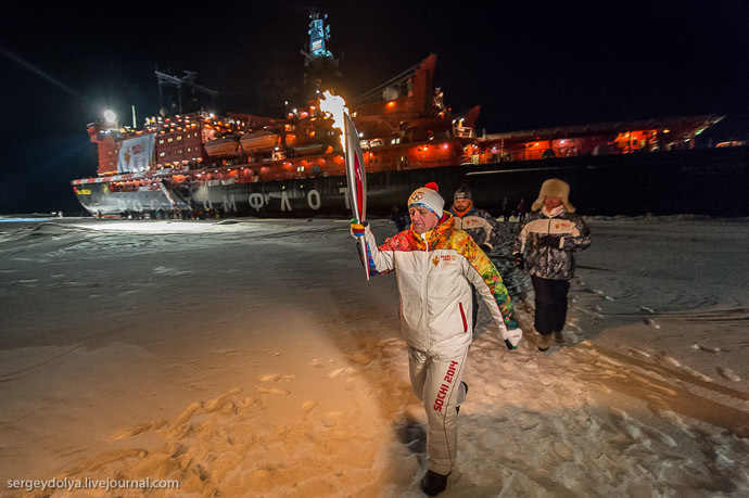 Gadgetzz The First Olympic Torch To Be In Space Has Returned Back Home winter olympic 2014 space torch The Olympic Torch space Russian cosmonauts ISS gadgets news