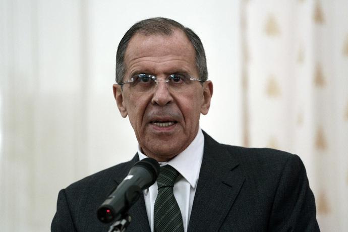Russian Foreign Minister Sergei Lavrov (RIA Novosti/Andrey Stenin)