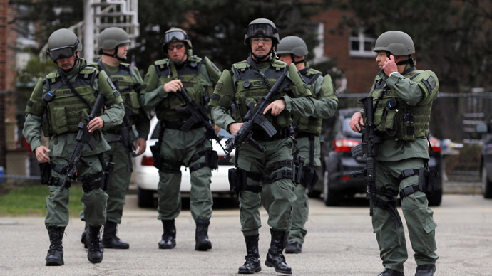 Police militarization expo Urban Shield descends on Oakland (VIDEO)