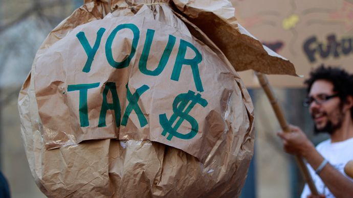 ​26 top American corporations paid no federal income tax from '08 to '12 – report