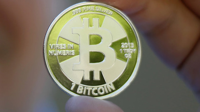 Bitcoin value passes $1,000 for first time ever